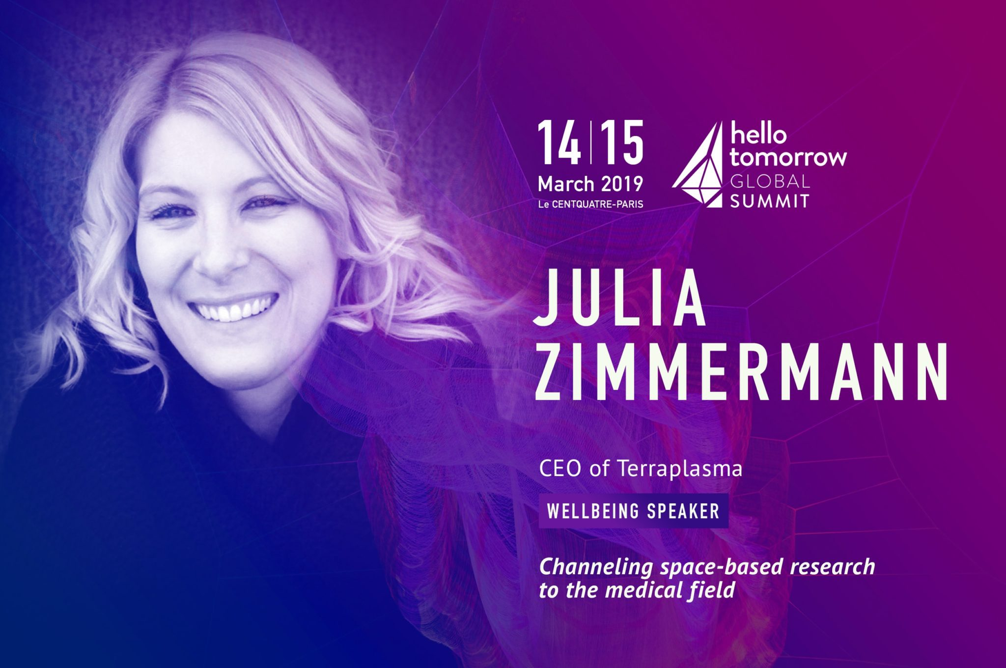 Julia Zimmermann - Hello Tomorrow Global Summit